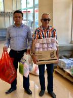 Гуманитарная помощь пострадавшим в г.Арысь